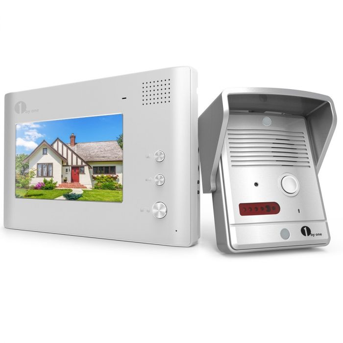 1byone 7 Inch Color Monitor And Pinhole Hd Camera Video Doorbell