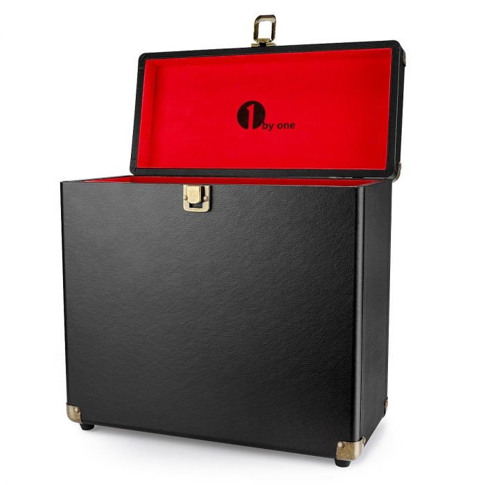 1byone Vinyl Record Storage Case For 30 Albums