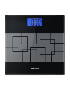 Precision Digital Body Weight Scale with Step-on Technology