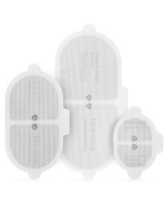 TENS Replacement Electrode Pads, Reusable, Self-Adhering