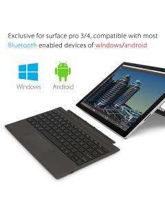 Ultra-Slim Wireless Bluetooth Keyboard with Touchpad