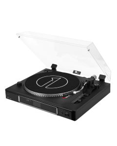3-Speed Semi-Automatically Belt-Driven Turntable