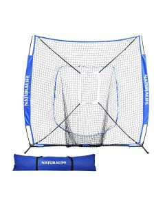 7x7ft Baseball and Softball Practice Net-Blue