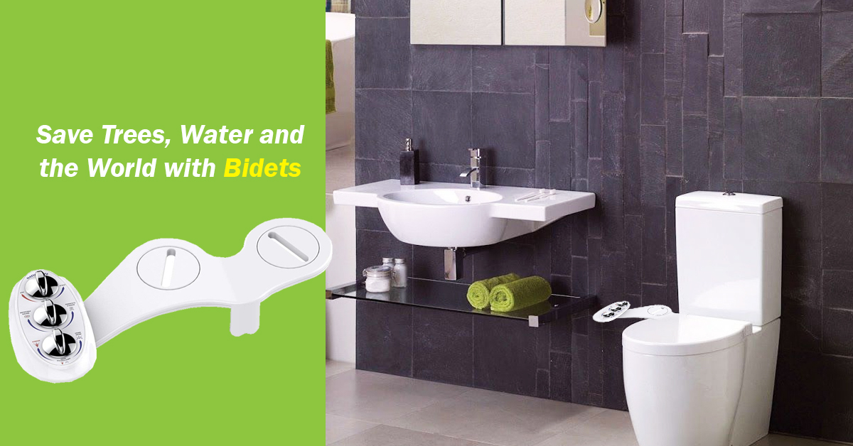 Naturalife Bidet Seat Attachments - An Easy Bidet Addition without Major Remodeling Work