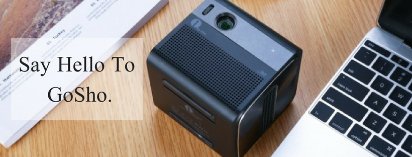 Meet the World's Most Powerful Mini HD Projector- GoSho