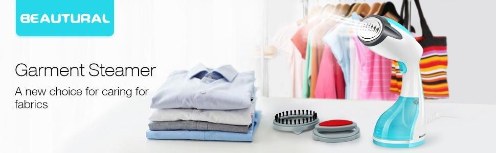 Beautural Handheld Garment Steamer- The Best Way to Keep Wrinkles Away