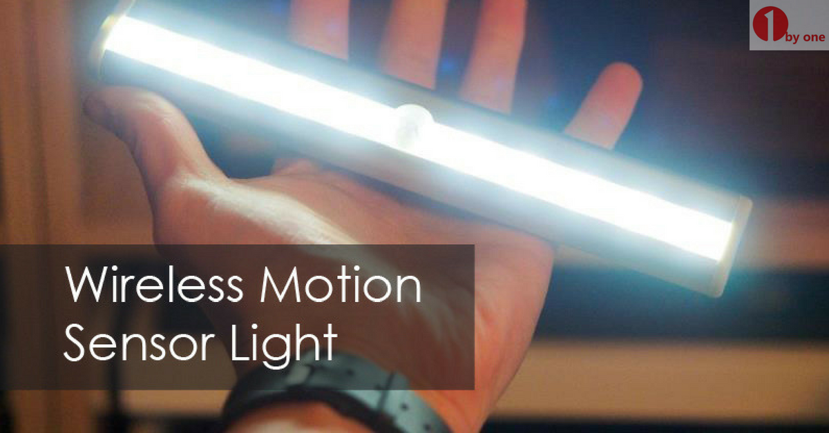Gloom up Your Place with the 1byone Wireless Sensor Light