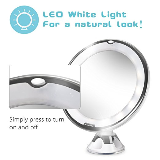 Pamper Yourself With a 1byOne's 10x Magnifying Makeup Mirror